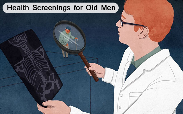 Health Screenings for Old Men