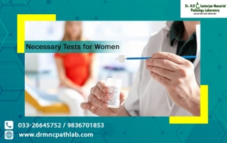 Necessary Tests for Women