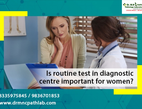 Is routine test in diagnostic centre important for women?